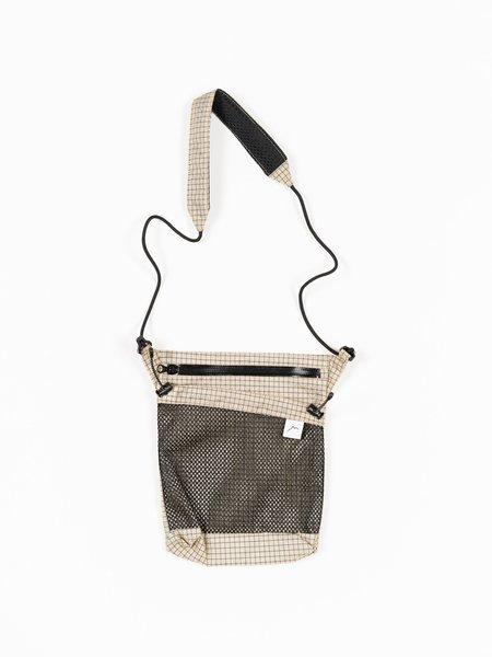 CAYL Seorak 3 B-Grid Mesh bag - Beige
