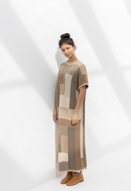 Lauren Manoogian Log Cabin Dress - Mix