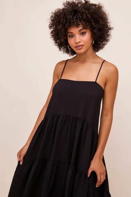 ASTR The Label Ursa Midi Dress