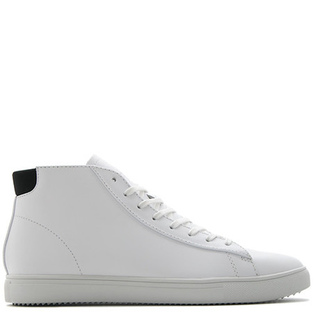CLAE BRADLEY MID / WHITE LEATHER