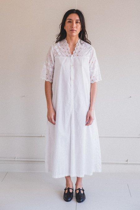 VINTAGE EDWARDIAN DRESS - WHITE
