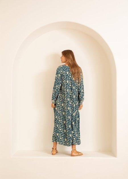 Natalie Martin Fiore Maxi - Silhouette Shallows Silk