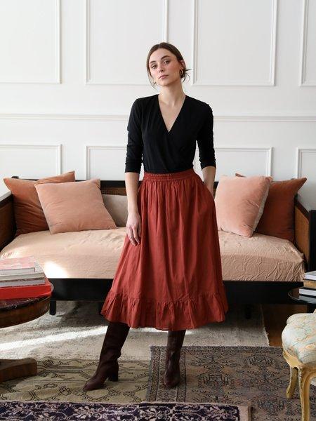 Mille Luna Skirt - Brun