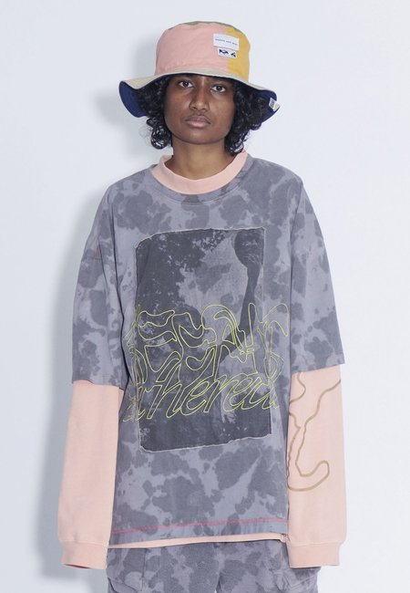 Perks and Mini Keep It Ethereal Oversized T-Shirt - marble