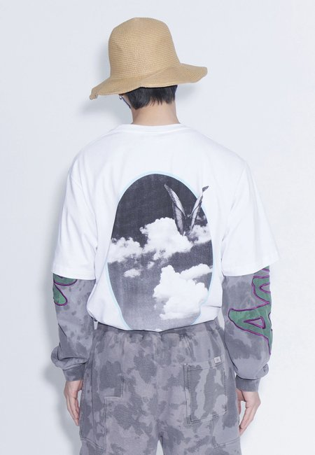 Perks and Mini Window On Ethereal T-Shirt - white