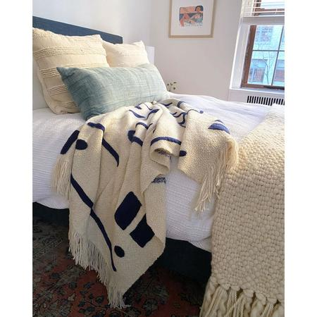 Minna Goods Abstract Shapes Throw Blanket