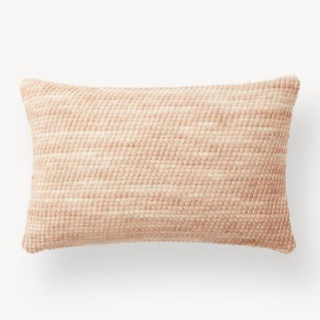 Minna Goods Sheila Lumbar Pillow - Salmon