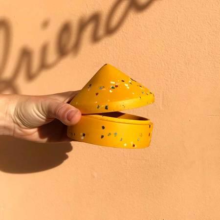 Capra Designs Terrazzo Cone Box