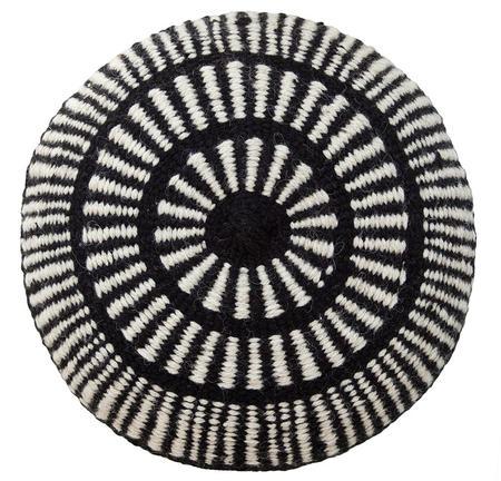 Pampa Monte Cushion #5 - Black/Natural