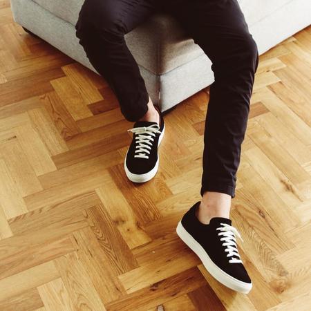 Unseen Helier Suede Sneakers - Black