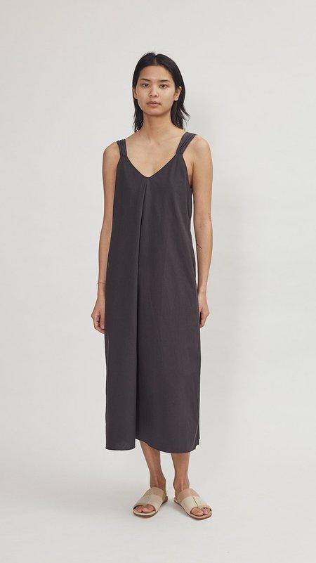 Elsa Esturgie Eglantine Dress - Carbon