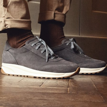 Unseen Trinity Suede Sneakers - Grey
