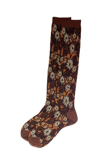Anna Sui Harvest Flower Socks
