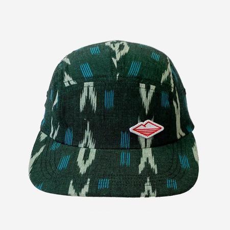 Battenwear 5-Panel Travel Cap - Clay Ikat