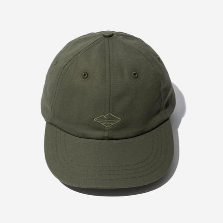 Battenwear 6-Panel Field Cap - Olive Twill