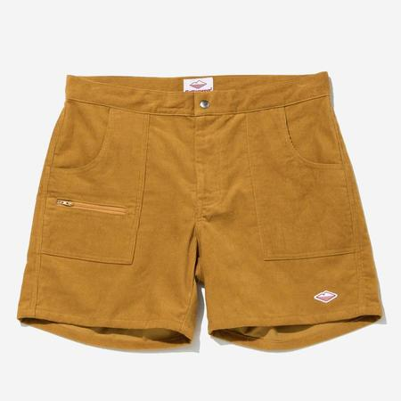 Battenwear Local Shorts - Gold Corduroy