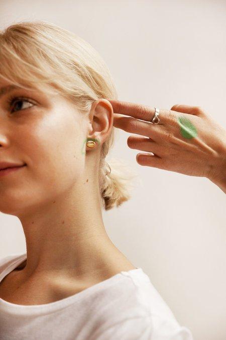 Nina Janvier Houria earrings I - Sterling Silve