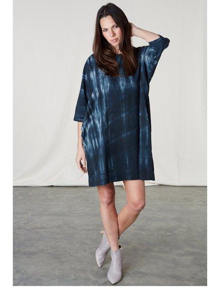 Uzi NYC Now Dress - Tie Dye Swipe