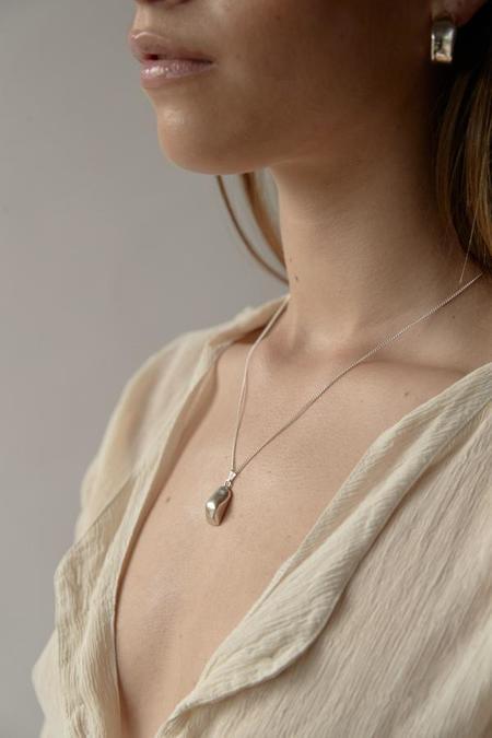 MARS Bump Necklace - Silver