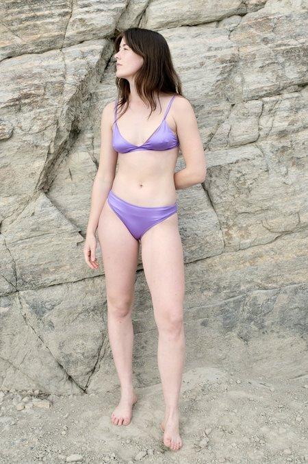 Baserange Bell Swim Bottoms - Laguna Purple
