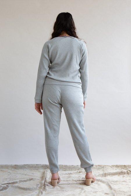 Baserange Ribbed Basic Sweatpants