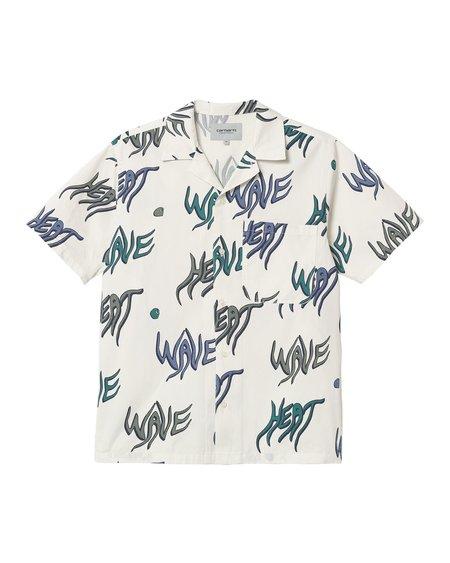 CARHARTT WIP SS Heat Wave Shirt - Wax