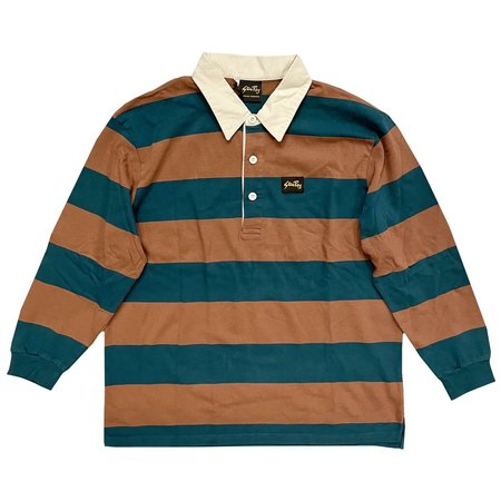 Stan Ray RUGBY SHIRT - CARBON/SANDSTONE