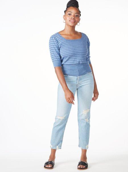 Aymara Zayna Sweater - CHAMBRAY