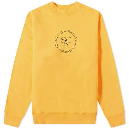 Sporty & Rich SRHWC Crewneck sweater - Honeycomb