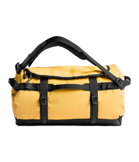 THE NORTH FACE Small Base Camp Duffel - Summit Gold/TNF Black