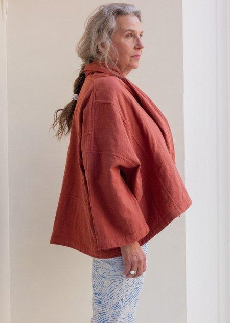 Unisex Atelier Delphine Kimono Jacket - Brick