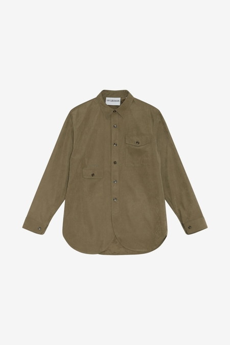 Han Kjøbenhavn Army Shirt - Army Dust