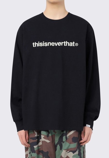 ThisIsNeverThat T-Logo Long Sleeve tee - black