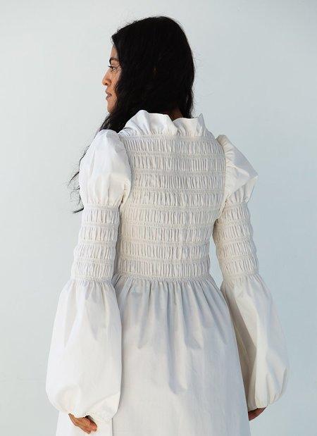 Juliette Fabbri x Bohème Mini Dress - Cream