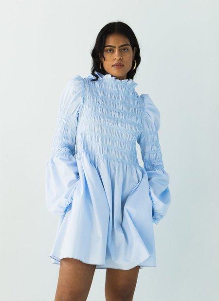 Juliette Fabbri x Bohème Mini Dress - Sky Blue