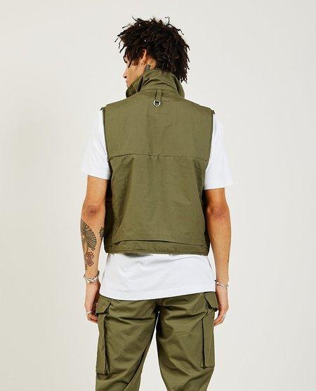 Monitaly Mossy Fishing Vest - OLIVE