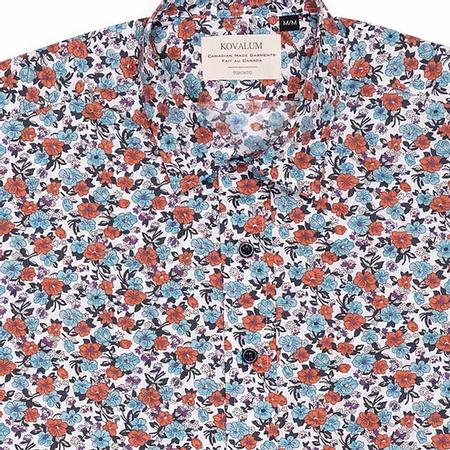 Kovalum Memphis S/S Shirt - Teal/Red