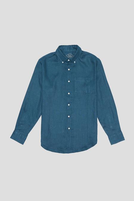 Alex Crane Linen Playa Shirt - Dusk