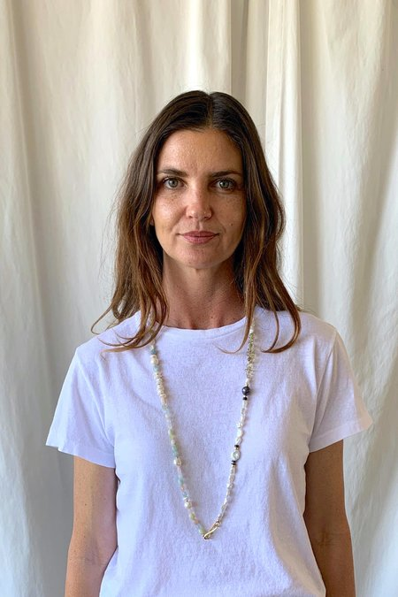 Lizzie Fortunato Cinq Necklace - Sky