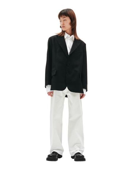 Vetements Cut Out Jacket - Black