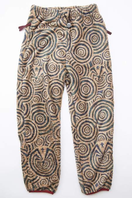 Kapital MAZE Fleece Easy Pants - Multi