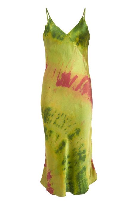 abacaxi x SVNR Sandía Silk Slip Dress