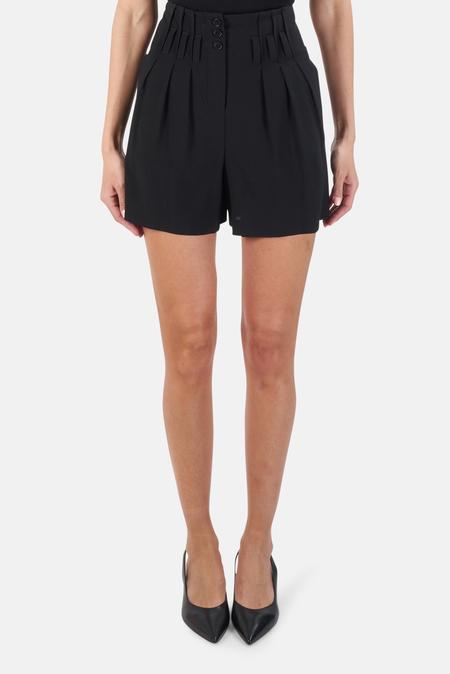 Alexander Wang High Waist Shorts - Black