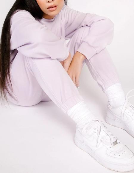 Shady Lady Butter Fleece Joggers PANTS - Lilac