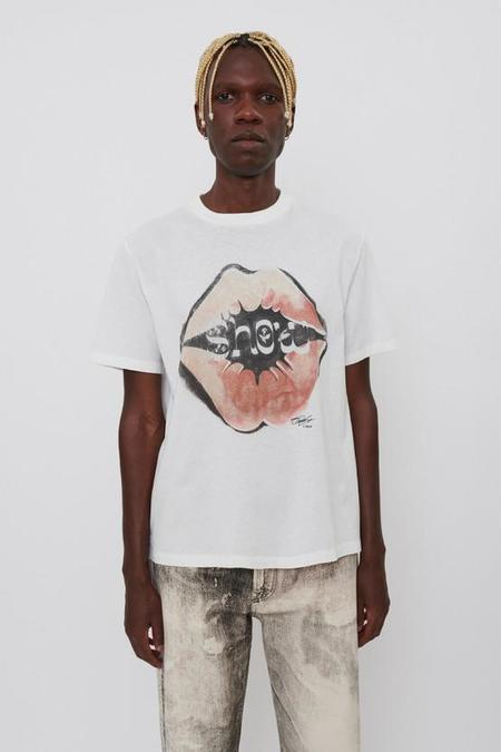 Our Legacy Show Kiss Print Box T-Shirt - White