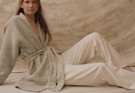 Wol Hide Easy Fleece Sweatpant - Natural