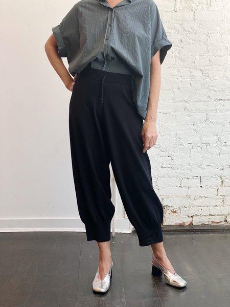Serien°umerica Knit Pants - Black