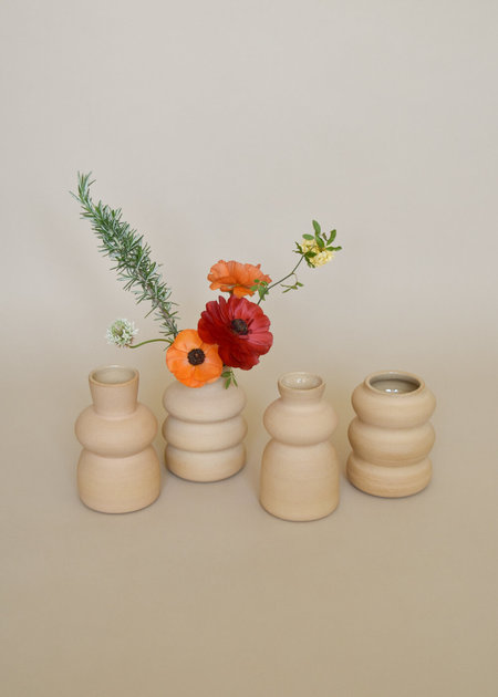 Local Shade Tan Vase - Natural