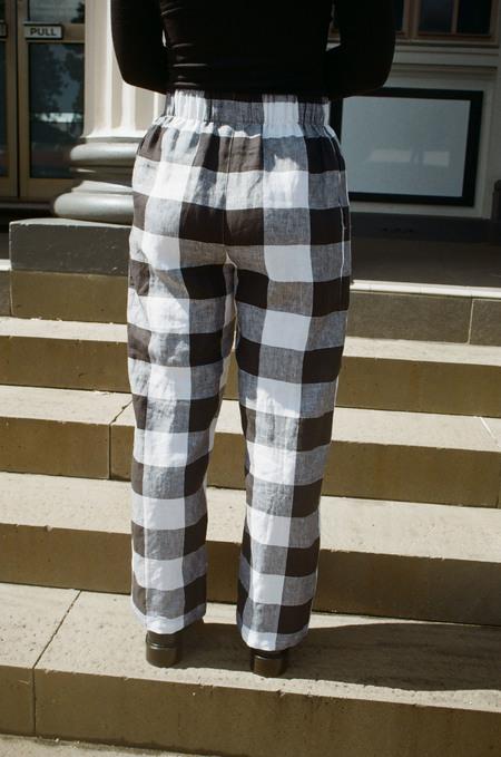 Mimi Holvast Scrunchie Pants - Giant Gingham
