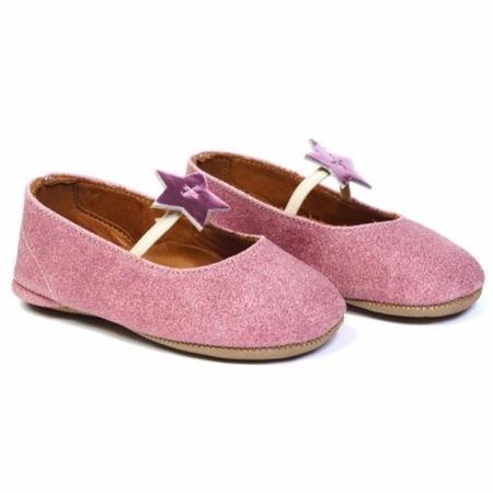 Kids pèpè glitter ballet flats - pink